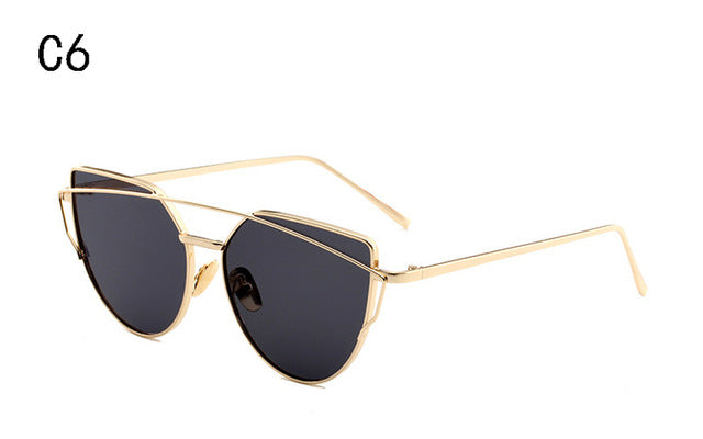 MeowMe -  Vintage Ladies Cat Eye Sunglasses