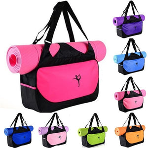 The Gogi Yogi - Multifunctional Sport Bag Clothes Yoga Bag Yoga Backpack Shoulder Waterproof Yoga Pilates Mat Case Bag Carriers Gym Without Mat