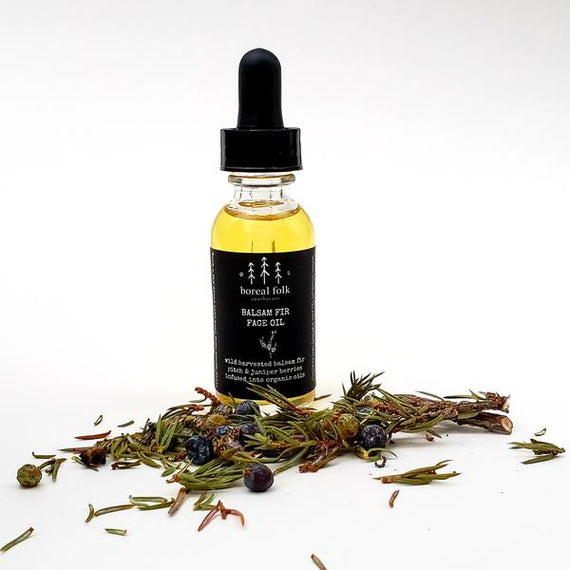Boreal Folk apothecary - Balsam Fir face oil