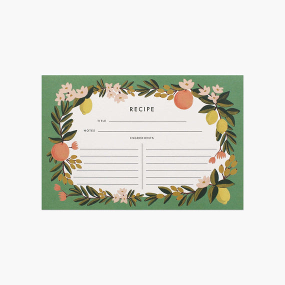 Rifle Paper Co - Recipe Cards