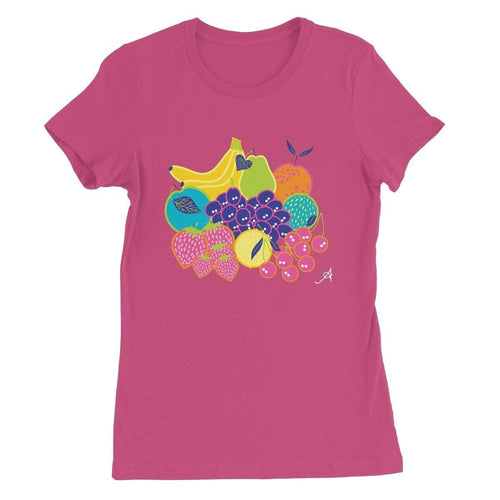 Apparel S / Berry Eat Me Motif Amanya Design Women's Favourite T-Shirt Prodigi