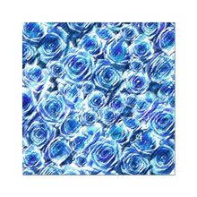 "Load image into Gallery viewer, Fine art 24""x24"" Textured Roses Cornflower Amanya Design Photo Art Print Prodigi"