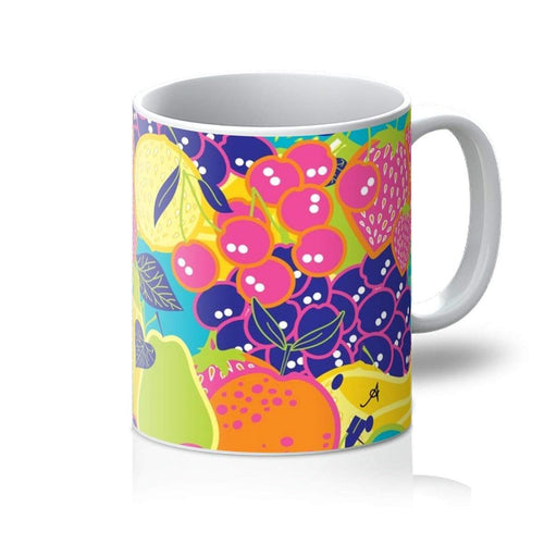 Homeware 11oz / White Eat Me Allover Amanya Design Mug Prodigi