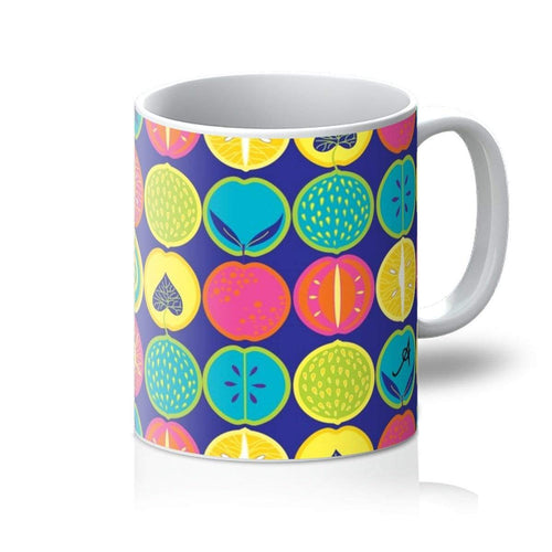 Homeware 11oz / White Eat Me Tropicana Blue Amanya Design Mug Prodigi