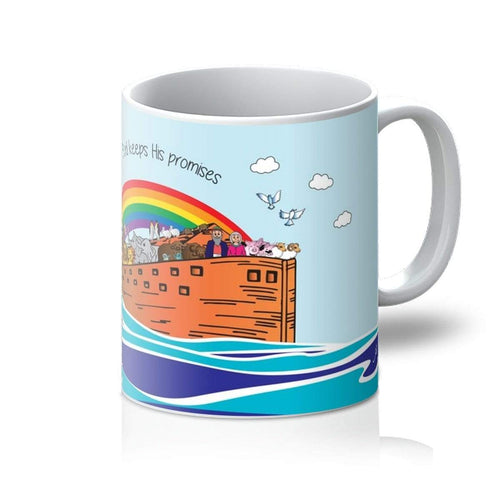 Homeware 11oz / White Noah's Ark Amanya Design Mug Prodigi