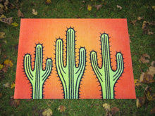 Load image into Gallery viewer, Mat Doormats Funky Prickles - Kings of the Desert Amanya Design