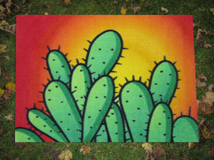 Mat Doormats Funky Prickles - Looking Sharp Amanya Design