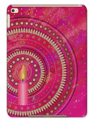 Phone & Tablet Cases iPad Air 2 / Matte Light of the World Pink Amanya Design Tablet Cases Prodigi