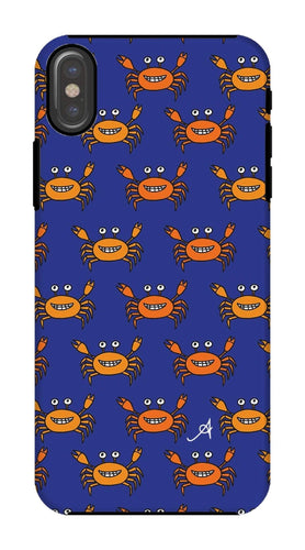 Phone & Tablet Cases iPhone X / Tough / Gloss Mr and Mrs Crabby Amanya Design Tough Phone Case Prodigi