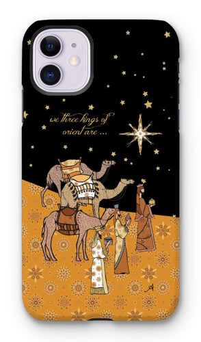 Phone & Tablet Cases iPhone 11 / Tough / Gloss Nativity Metallics Kings Amanya Design Tough Phone Case Prodigi