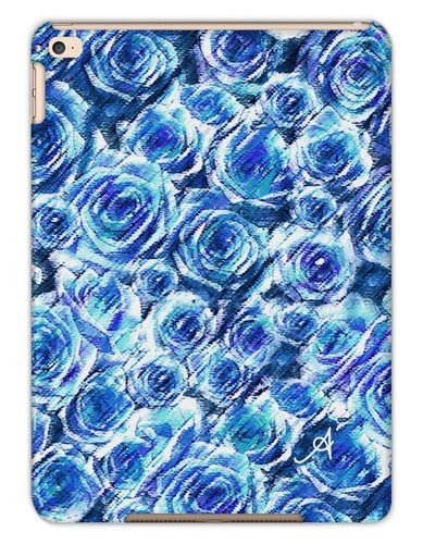 Phone & Tablet Cases iPad Air 2 / Matte Textured Roses Cornflower Amanya Design Tablet Cases Prodigi