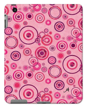 Load image into Gallery viewer, Phone & Tablet Cases iPad 2/3/4 / Gloss Watercolour Circles Pink Amanya Design Tablet Cases Prodigi