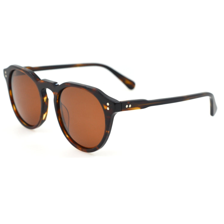 Keyhole bridge sunglasses -  Dark Brown Tortoise