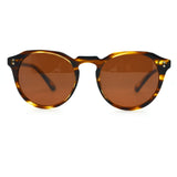 Keyhole bridge sunglasses -  Honey Tortoise