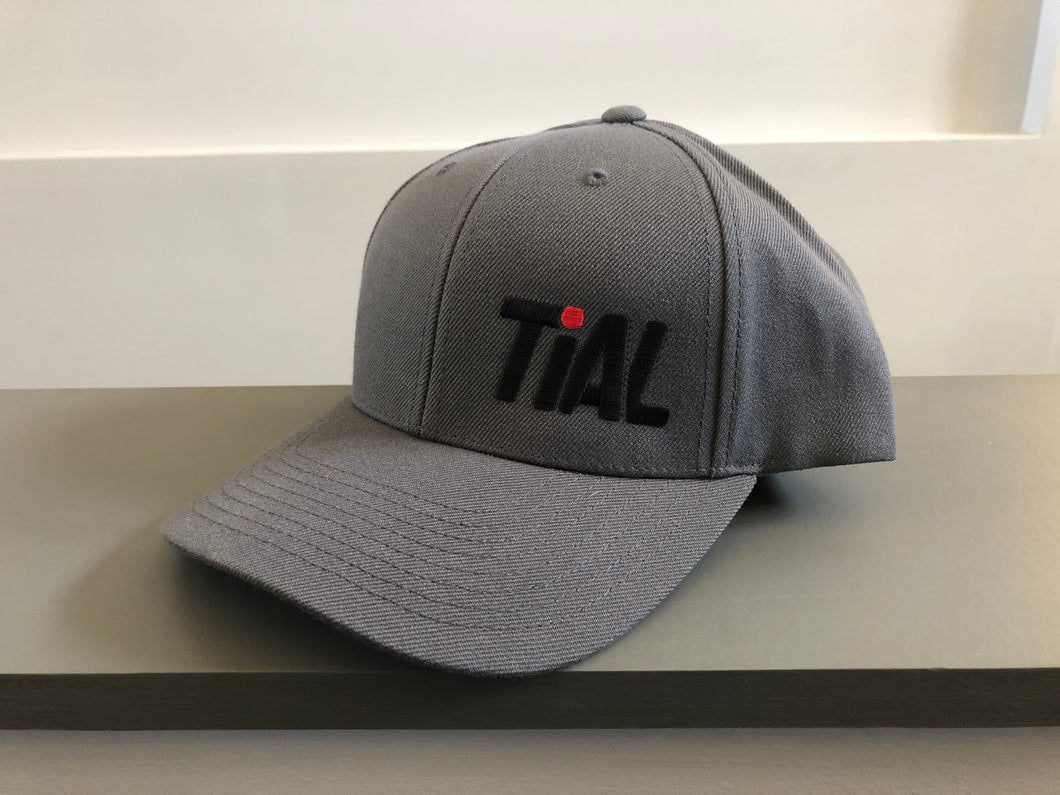 TiALSport/Xona Rotor Flexfit 110 Hat, Gray with traditional embroidery