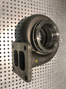 O.E. Garrett GT/GTX35 T4, twin-scroll turbine housing, 0.84A/R-V-band discharge