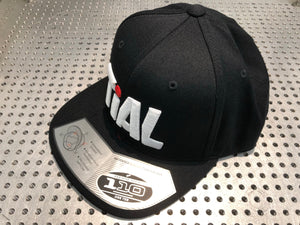 TiALSport/Xona Rotor Flexfit 110 Hat, Black with 3D embroidery
