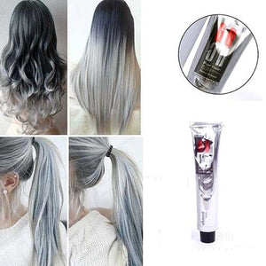 HOT Light Gray Color Natural Super Hair Dye Cream