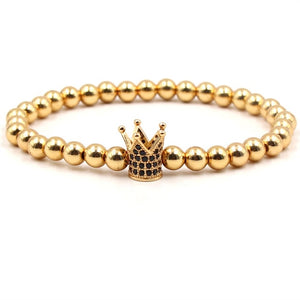 Luxury Jewelry Bracelets Gold Crown
