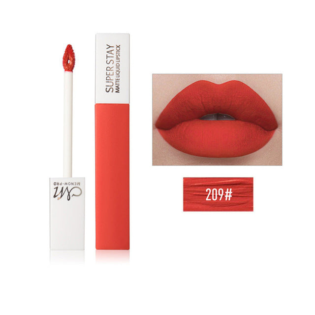 12 Colors Sexy Red Lip Velvet