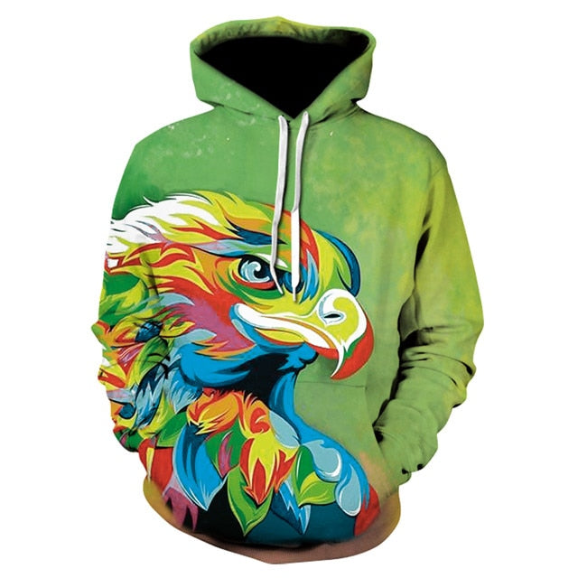 3D Space Galaxy Wolf Hoodie And More Styles by ENIMAS