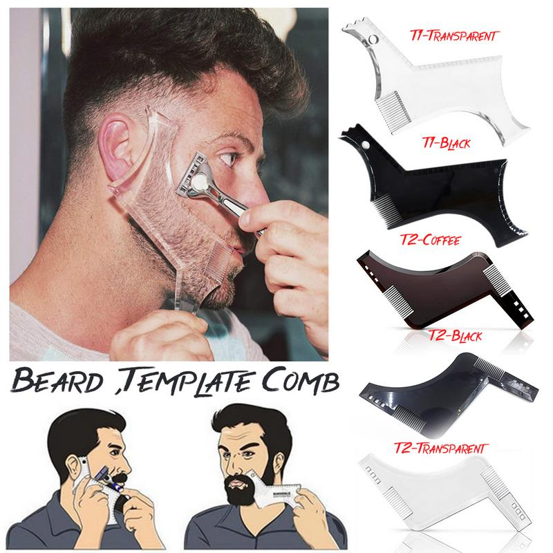 Men Beard Shaping Styling