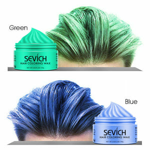 green blue hair color