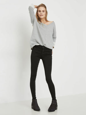 Noisy May Lucy Power shape jean