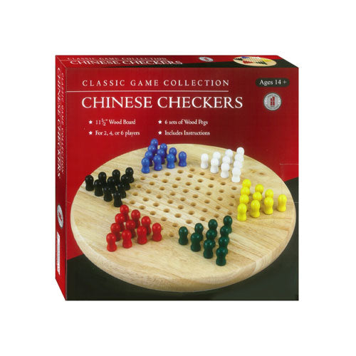 Chinese Checkers Wooden Board