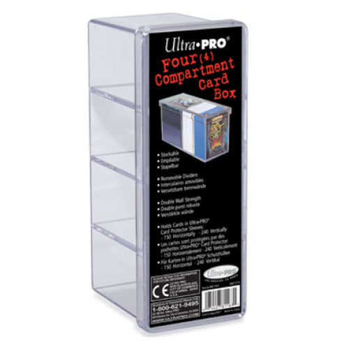 Storage Box Specialty Holders Ultra Pro 4 Compartment
