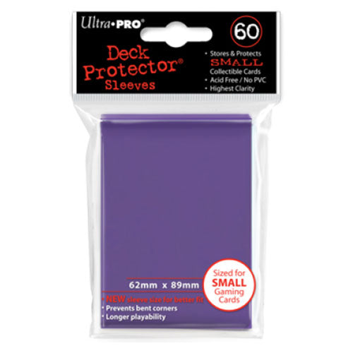 Deck Protector Ultra Pro Small 60ct Purple