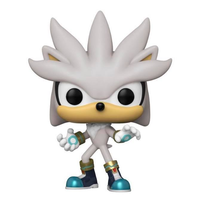Sonic the Hedgehog Silver 30th Anniversary Pop! Vinyl