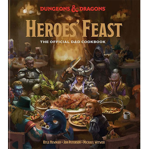 Heroes Feast: The Official Dungeons and Dragons Cookbook Hardcover