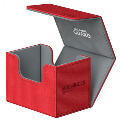 Deck Box Ultimate Guard SideWinder 80+ Standard Size Red