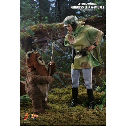 Star Wars Leia & Wicket Return of the Jedi 1:6 Scale Acton Figure
