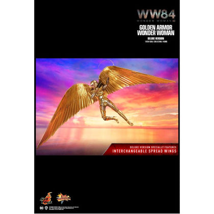 Wonder Woman 1984 Golden Armor Deluxe 1:6 Scale 12 Inch Action Figure