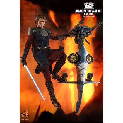 Star Wars Clone Wars Anakin & STAP 12 inch Action Figure Set