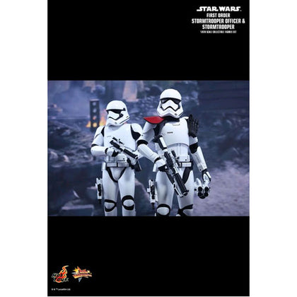 Star Wars First Order Stormtrooper & Officer Episode VII The Force Awakens 12 inch 1:6 Scale Action Figure Set