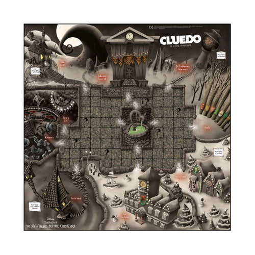 Cluedo The Nightmare Before Christmas Edition