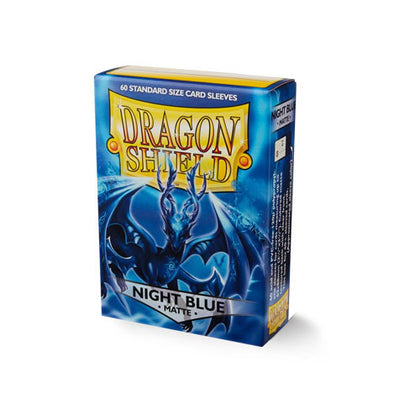 Deck Protector Dragon Shield Small (Japanese) 60ct Night Blue Classic