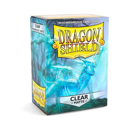 Deck Protector Dragon Shield Standard 100ct Clear Matte