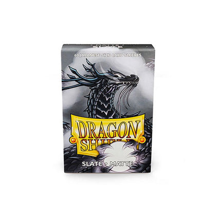 Deck Protector Dragon Shield Small (Japanese) 60ct Slate Matte