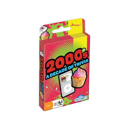 2000s Decade of Trivia Card Game