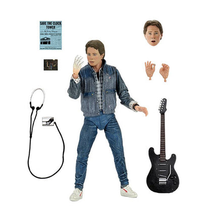Back to the Future Marty McFly '85 Audition 7 inch Action Figure