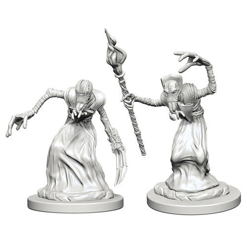 D&D Nolzurs Marvelous Unpainted Minis Mind Flayers