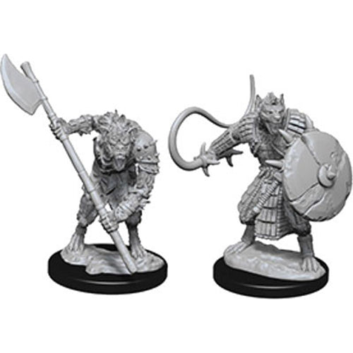 Pathfinder Deep Cuts Unpainted Miniatures Gnolls