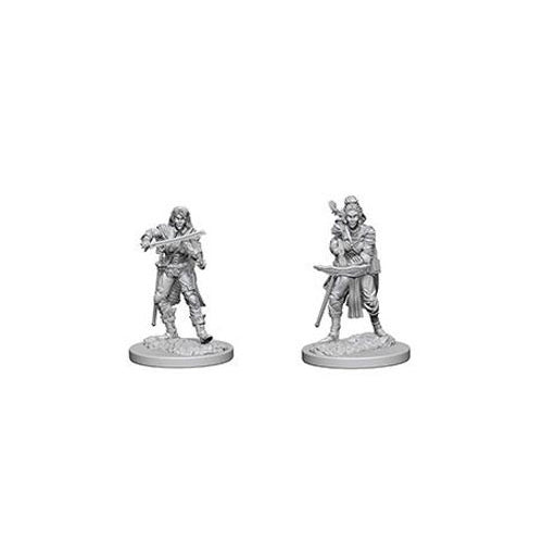 Pathfinder Deep Cuts Unpainted Miniatures Elf Female Bard