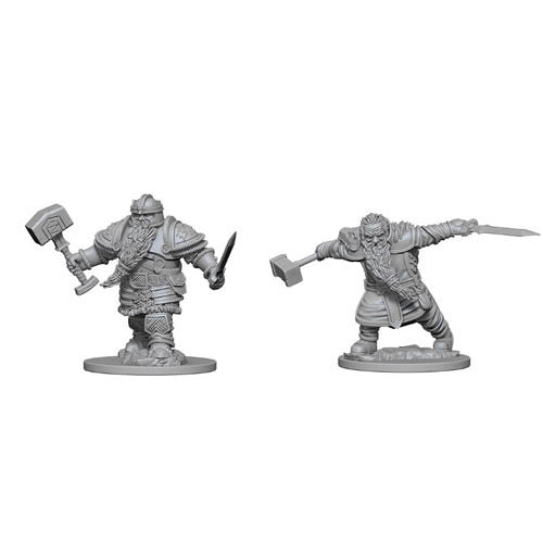 D&D Nolzurs Marvelous Unpainted Minis Dwarf Male Fighter