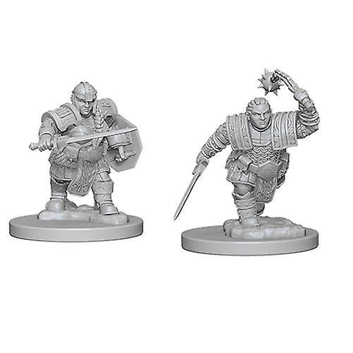 D&D Nolzurs Marvelous Unpainted Minis Dwarf Female Fighter