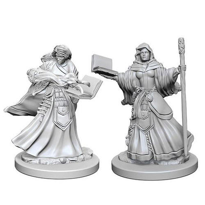 D&D Nolzurs Marvelous Unpainted Human Female Wizard